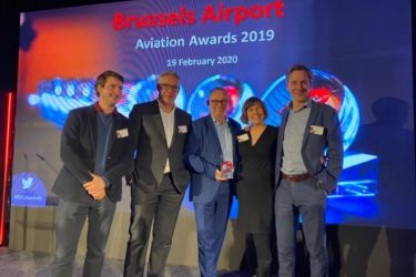 Nallian takes home Brussels Airport's BRUcargo award
